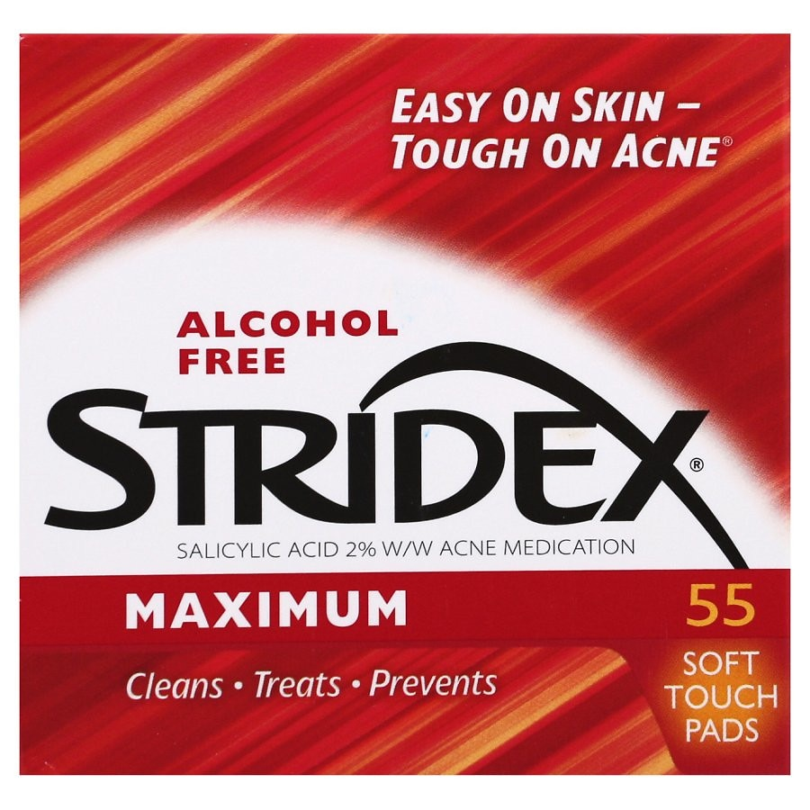 Image result for stridex pads before and after pores