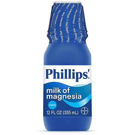 Phillips Milk of Magnesia Saline Laxative Liquid Original - 12 oz.