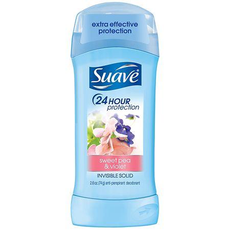 Suave Antiperspirant Deodorant Sweet Pea and Violet - 2.6 oz.