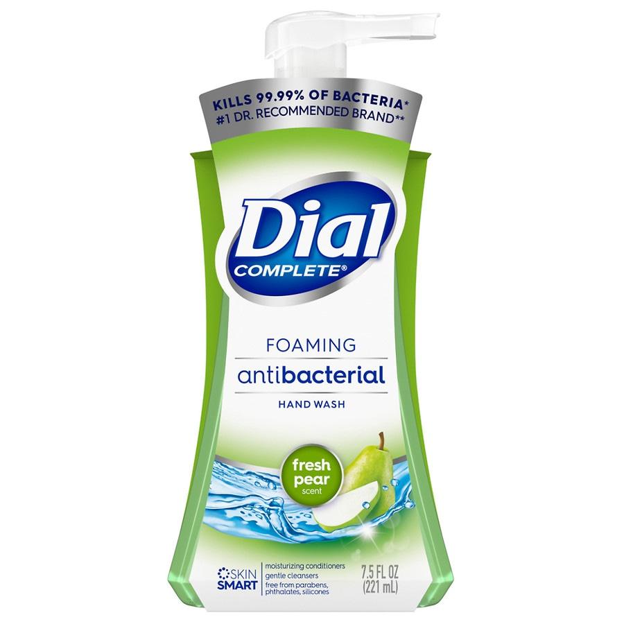 Dial Complete Foaming Antibacterial Hand Wash Pear Walgreens
