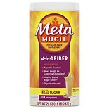 Metamucil Psyllium Daily Fiber Supplement Original Coarse Powder