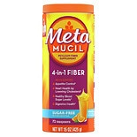 Metamucil Psyllium Daily Fiber Supplement Orange Smooth
