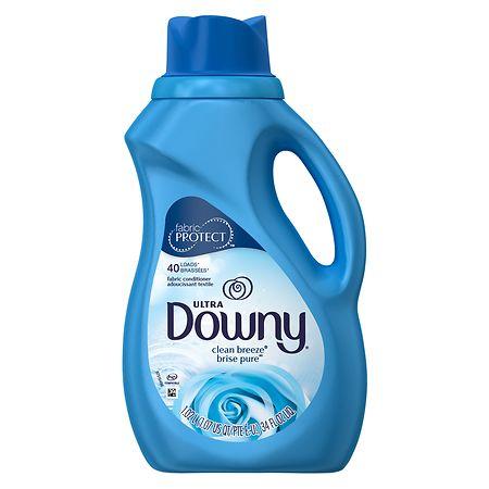 Downy Ultra Fabric Softener Clean Breeze 34 Fl Oz