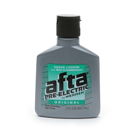 Afta By Mennen Pre Electric Shave Lotion Original Walgreens