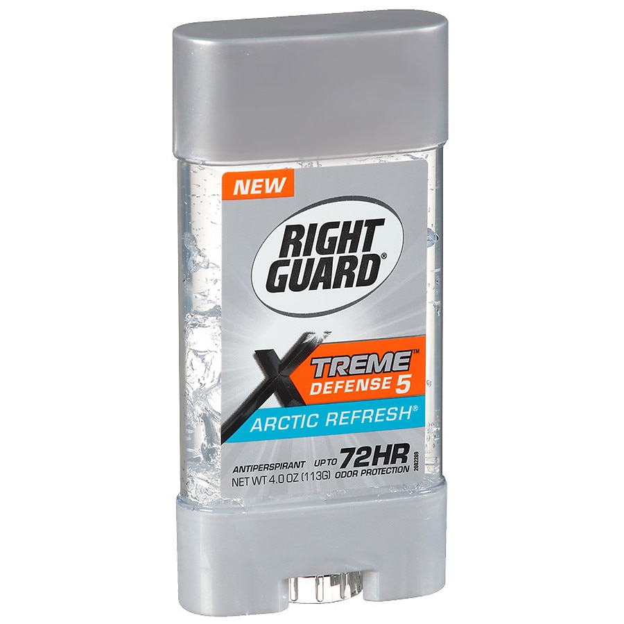 Right Guard Xtreme Hair & Body Wash: Tested to the Xtreme! Right Guard Hair & Body Wash products have a dual action formula which cleans your hair and body. These formulas energize your senses, deep clean to remove dirt and odor, and moisturizes skin to fight dryness.