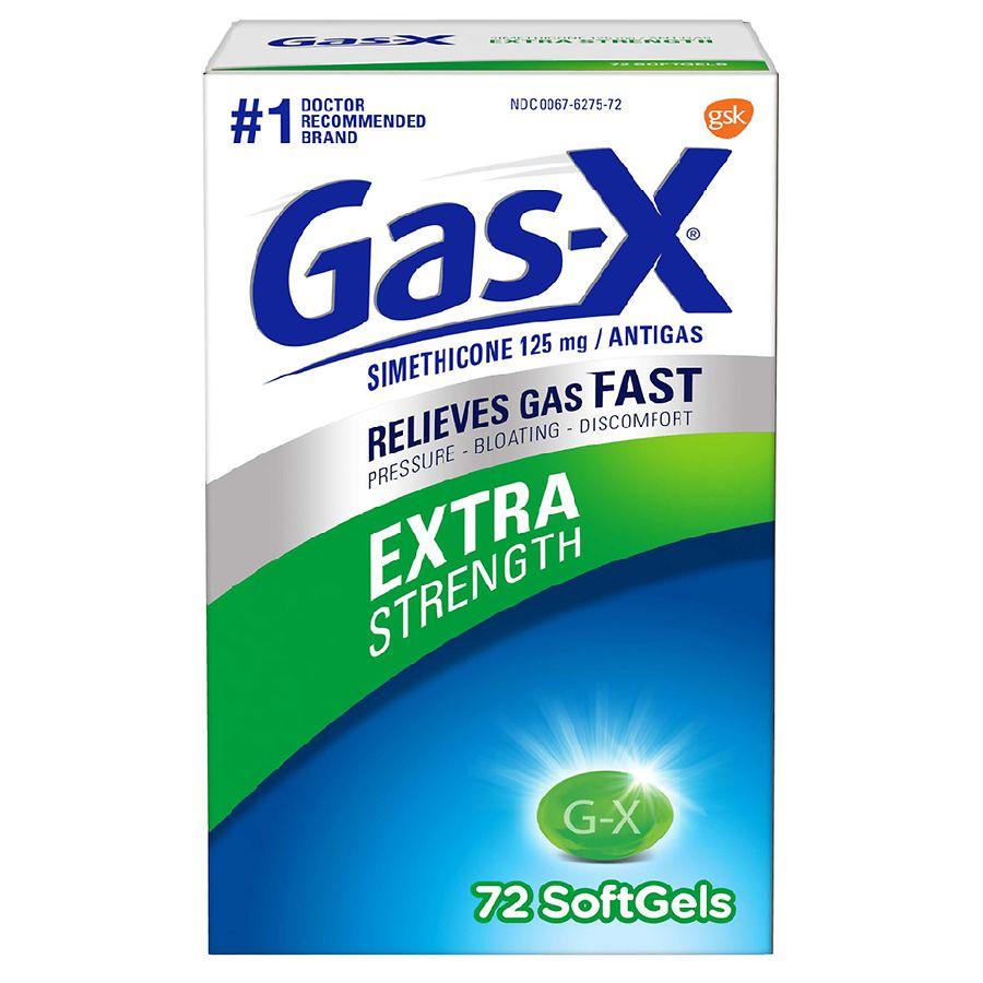 Gas-X Gas Relief Extra Strength  Walgreens-6853