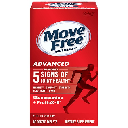 Schiff Move Free Advanced Triple Strength Glucosamine Chondroitin, Coated Tablets