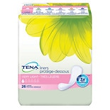 Tena Serenity Pantiliners, Medium Absorbency, Regular