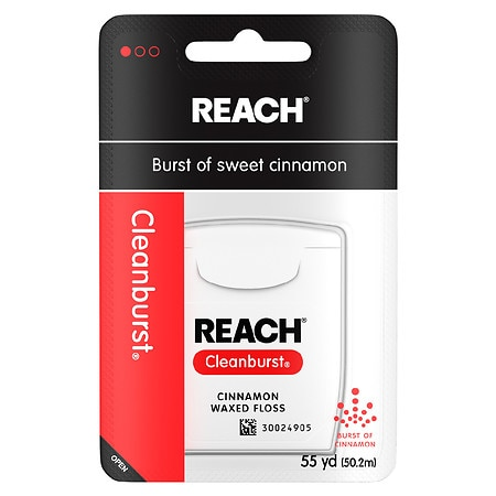 Reach Cleanburst Waxed Floss Cinnamon - 55 yd