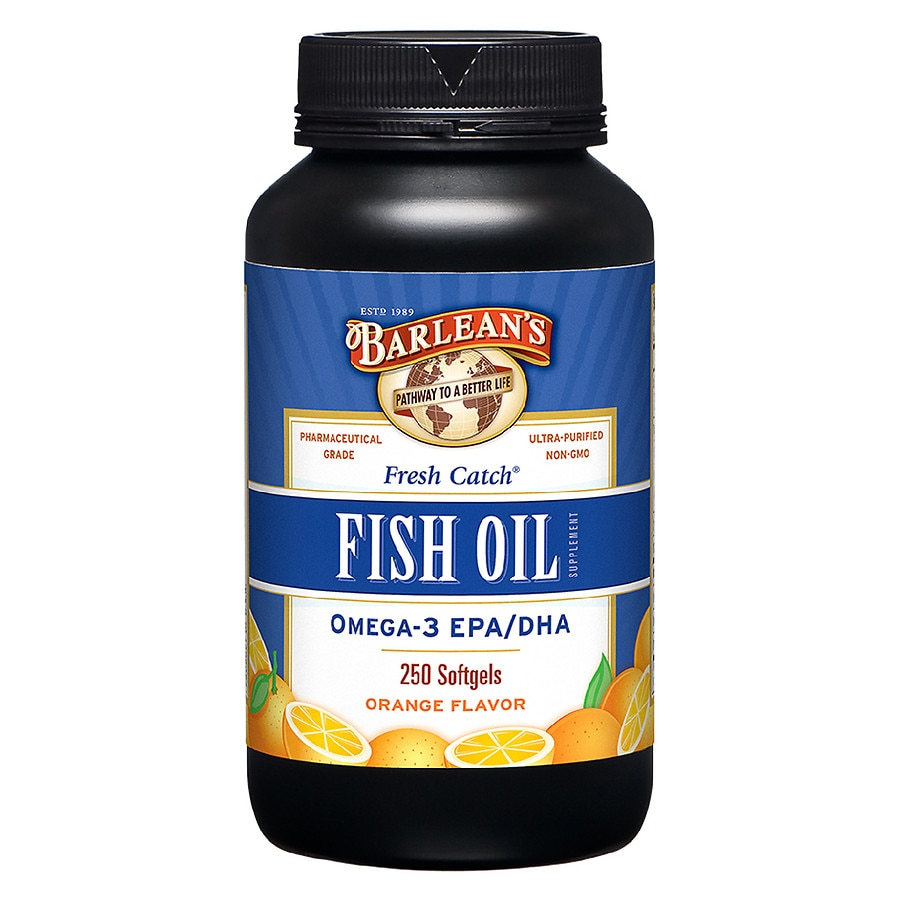 barlean 39 s organic oils fresh catch fish oil omega 3 epa