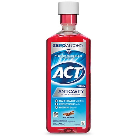 Act mouth rinse coupons