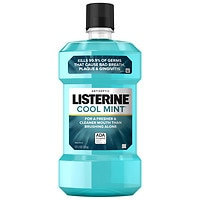Listerine Antiseptic Mouthwash, Mint + ACT Mouthwash Cool Mint