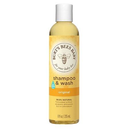 Burts Bees Baby Bee Shampoo & Wash Original, Original 8 Oz.