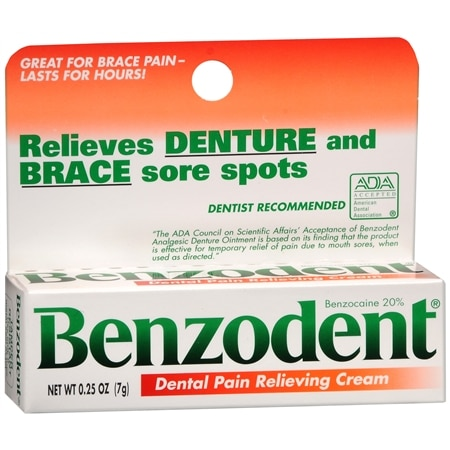 Image of Benzodent Dental Pain Relieving Cream - 0.25 oz.