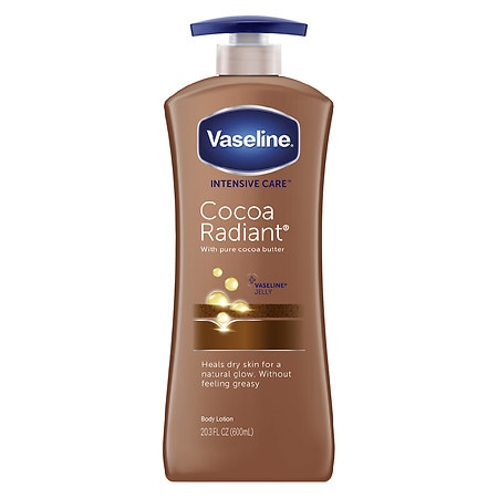 Vaseline Intensive Care Total Moisture Cocoa Radiant Body Lotion