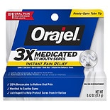 Orajel Oral Pain Reliever Gel for Mouth Sores