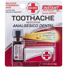 Red Cross Toothache Complete Medication Kit Walgreens