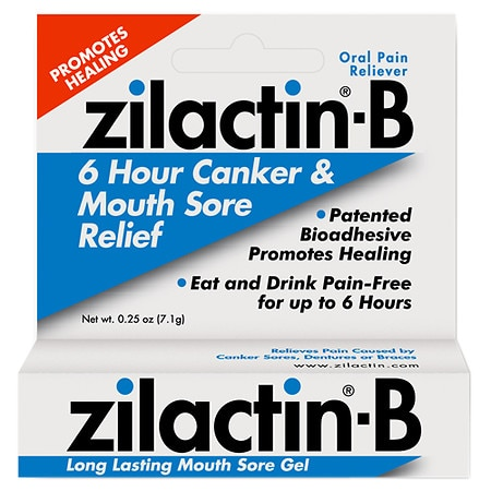 Zilactin-b Mouth Sore Gel - 0.25 Oz.