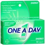 One A Day Energy Multivitamin/ Multimineral Supplement Tablets
