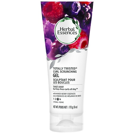 Herbal Essences Totally Twisted Curl Scrunching Hair Gel Mixed Berry