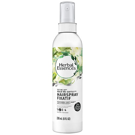 Herbal Essences Set Me Up Hold Me Softly Non-Aerosol Hairspray Lily of the Valley