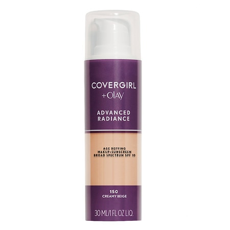 Image of CoverGirl Advanced Radiance SPF 10 Age-Defying Sunscreen Makeup - 1 fl oz