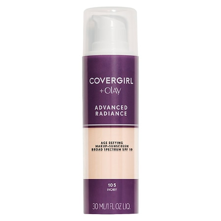 Image of CoverGirl Advanced Radiance SPF 10 Advanced Radiance Age-Defying Makeup - 1 fl oz