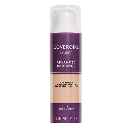 Image of CoverGirl Advanced Radiance SPF 10 Age-Defying Liquid Makeup Sunscreen - 1 oz.