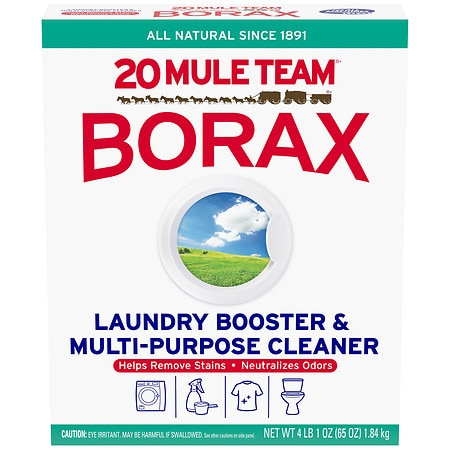 Image of 20 Mule Team Borax Detergent Booster & Multi-Purpose Household Cleaner - 65 oz.