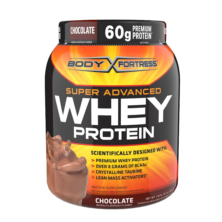Body Fortress Super Advanced Whey Protein Powder Chocolate1.95 lbs