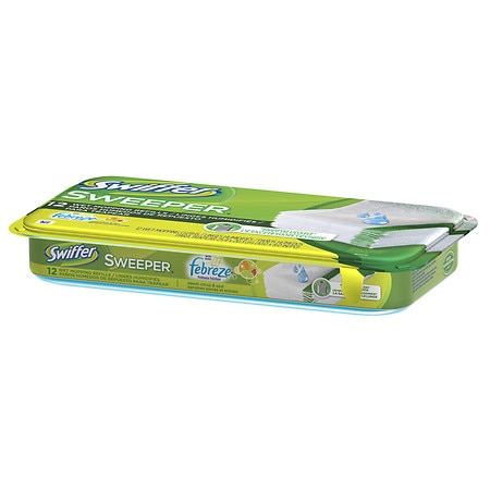 Swiffer Sweeper Wet Mopping Refills Sweet Citrus & Zest