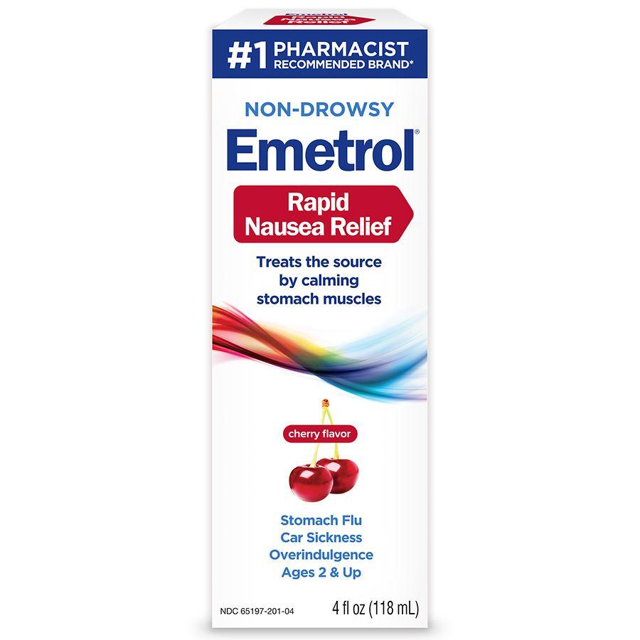 Emetrol Nausea and Upset Stomach Relief Cherry