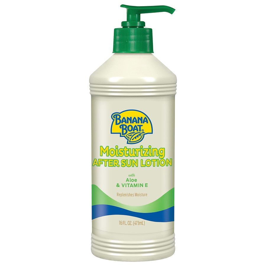 Body Lotions & Moisturizers Health & Beauty New Banana Boat Soothing Aloe After Sun Gel With Pure Aloe Vera-16 Oz