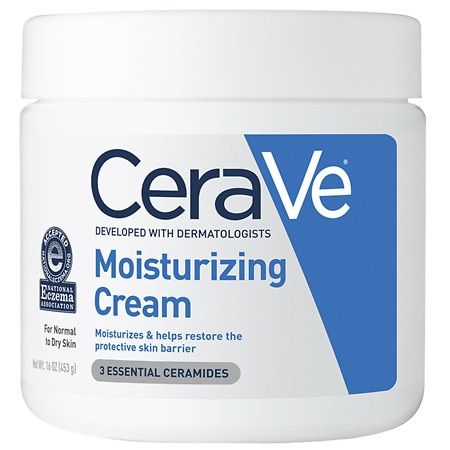 CeraVe Face and Body Moisturizing Cream for Normal to Dry Skin Fragrance Free - 16 oz.