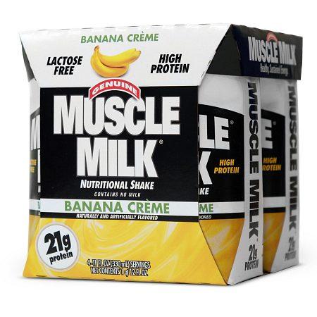CytoSport Muscle Milk Protein Shake Banana Creme - 11 oz. x 4 pack