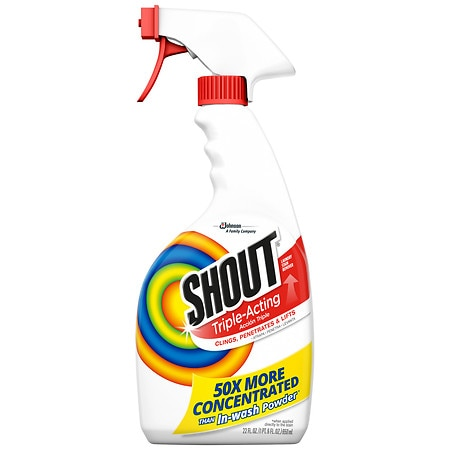 Shout Laundry Stain Remover Spray - 22 fl oz