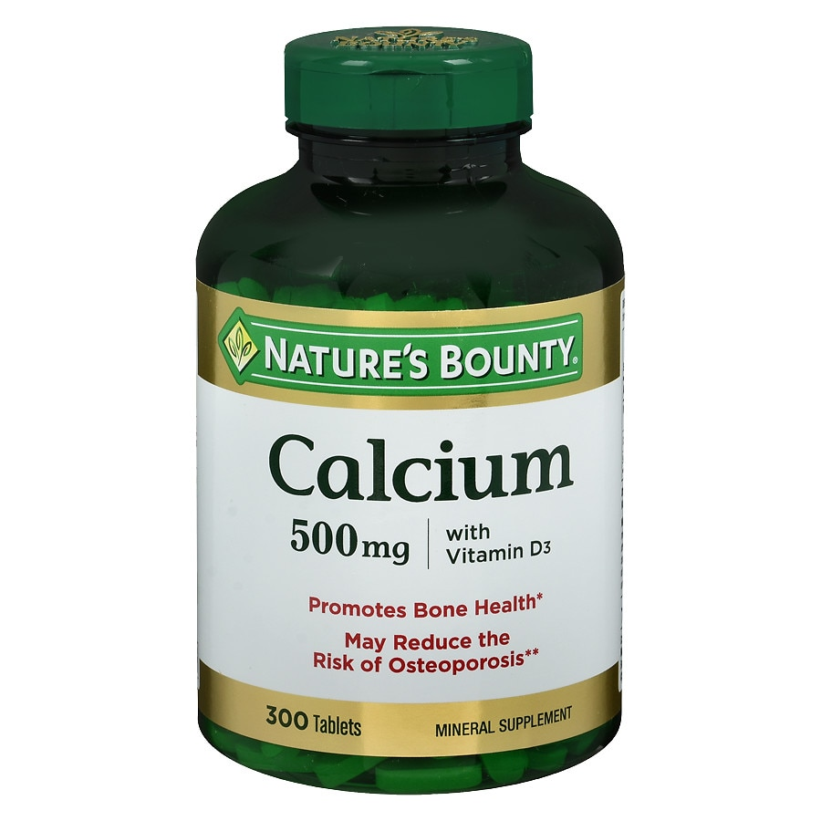 Nature bounty calcium