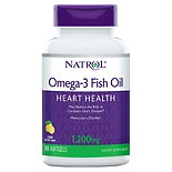 Natrol Omega-3 Fish Oil 1200 mg Lemon
