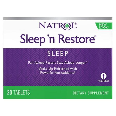 Natrol Sleep'n Restore - 20 ea