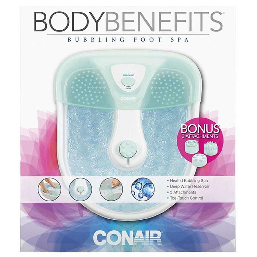 Conair Foot Spa with Massaging Bubbles & Heat, Model FB27R | Walgreens