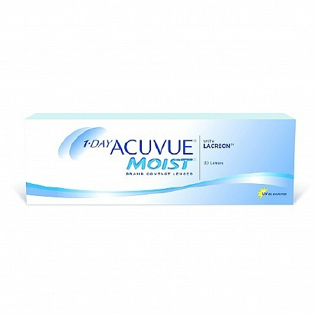 1-Day Acuvue Moist 30 Pk 1-Day Acuvue Moist 30 pack - 1 Box