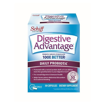 Schiff Digestive Advantage Daily Probiotic Capsules