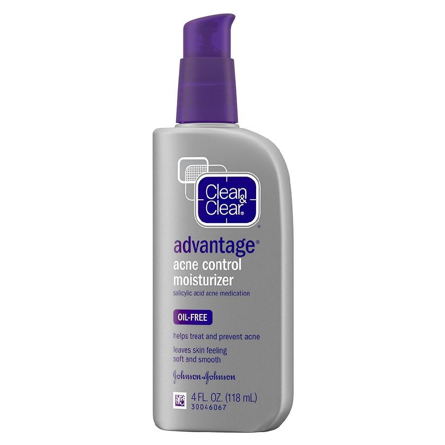 Clean   Clear Advantage Advantage Acne Control Moisturizer   Walgreens 7c50527d7e4