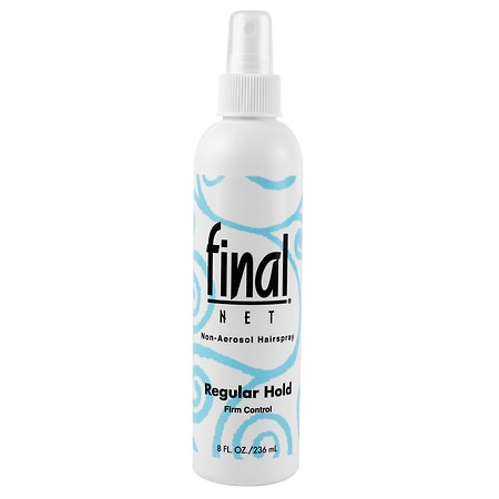 Final Net All Day Hold Hairspray, Unscented, Regular Hold