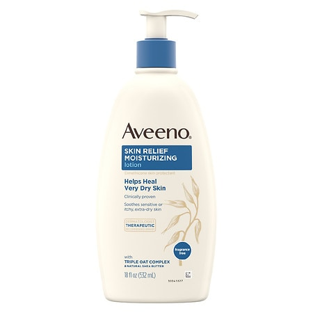 Aveeno Active Naturals Skin Relief 24 Hour Moisturizing Lotion Fragrance Free
