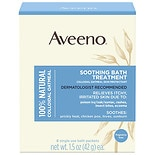 Aveeno Soothing Bath Treatment With Natural Colloidal Oatmeal Single Use Packets