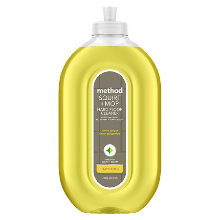 method Squirt + Mop, Hard Floor Cleaner Lemon Ginger