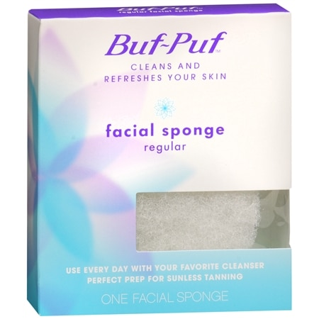 Buf-Puf Facial Sponge Regular - 1 ea