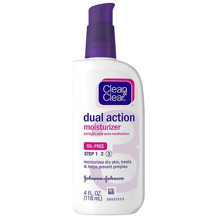 Clean & Clear Dual Action Skin Moisturizer