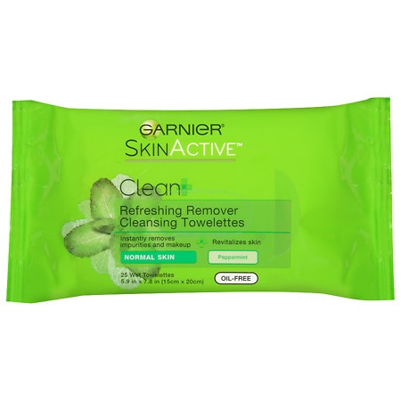Garnier Nutritioniste Nutri-Pure Detoxifying Wet Cleansing Towelettes